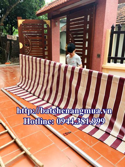 Lắp đặt bạt che nắng mưa tại Quảng Ninh - 4