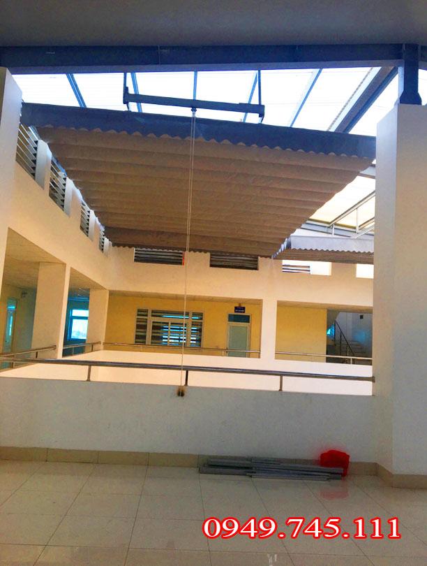 Lắp đặt bạt che nắng mưa tại Quảng Ninh - 2
