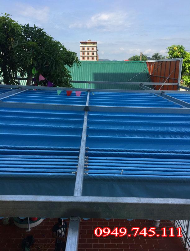 Lắp đặt bạt che nắng mưa tại Quảng Ninh